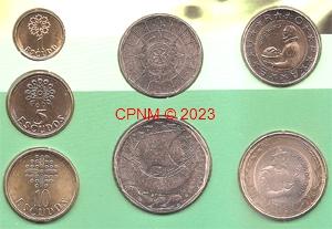 Monnaies d 39 europe dern monnaies nationales avant l 39 euro - Comptoir numismatique monaco ...