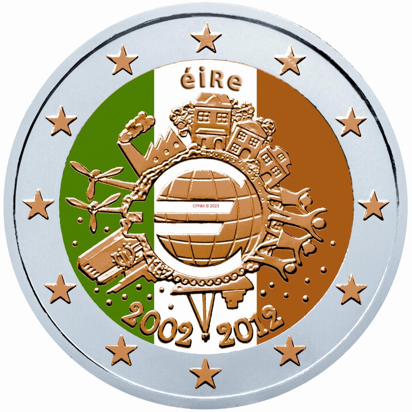 Euros irlande - Comptoir numismatique monaco ...